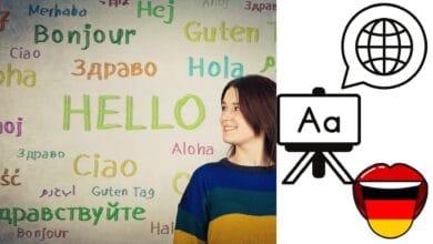 صورة مهارات تعلم اللغة الألمانية ولغات العالم مع تطبيق رائع